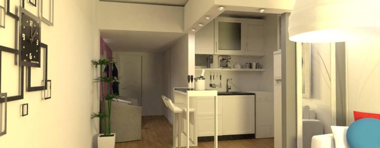 Kitchen by Arquimundo 3g - Diseño de Interiores - Ciudad de Buenos Aires