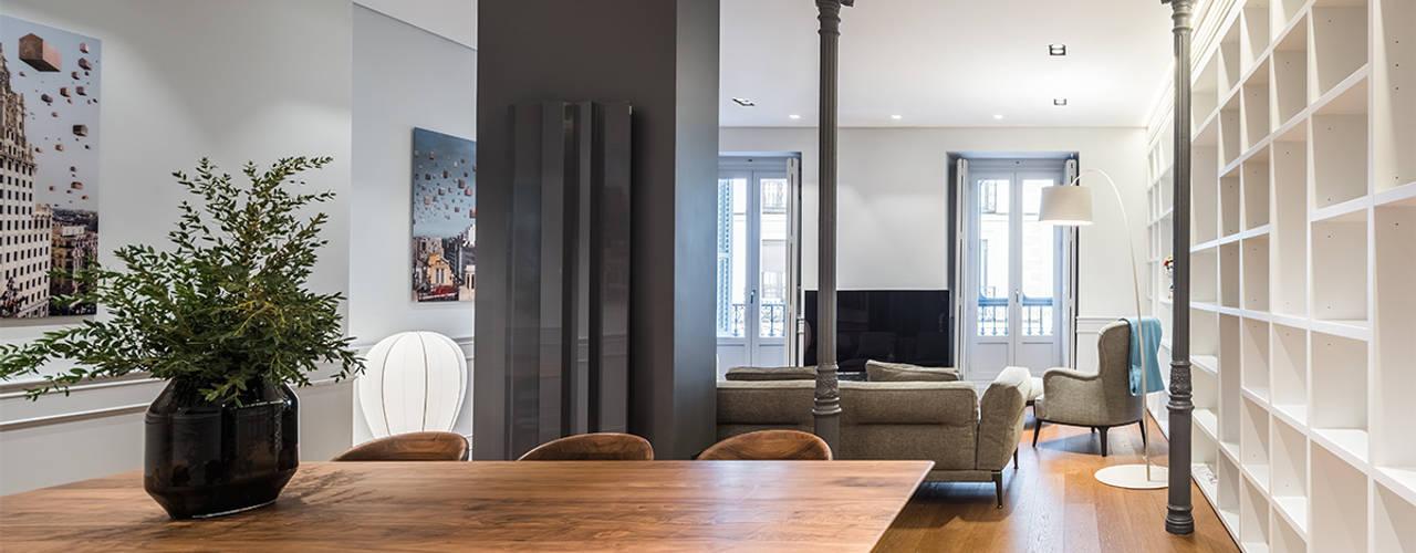 La reforma integral de un elegante piso en madrid - Reforma integral piso madrid ...