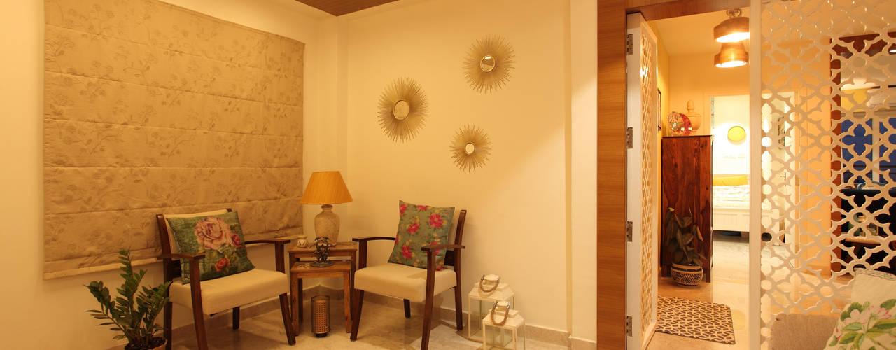 Apartment, Hyderabad: rustic  by Saloni Narayankar Interiors,Rustic