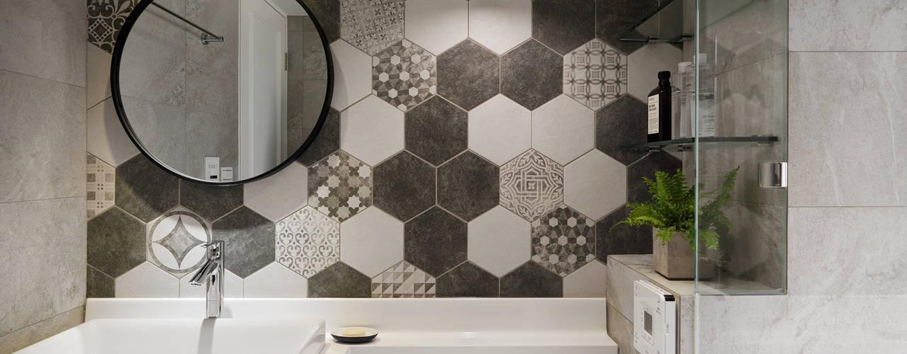 Scandinavian style bathroom by 創喜設計 Scandinavian