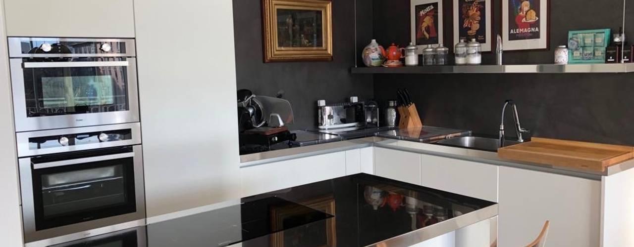 City Life Milan Cucina moderna di SteellArt Moderno