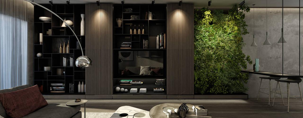 HG - Seasons Moderne Wohnzimmer von STUDIO PARADIGM Modern