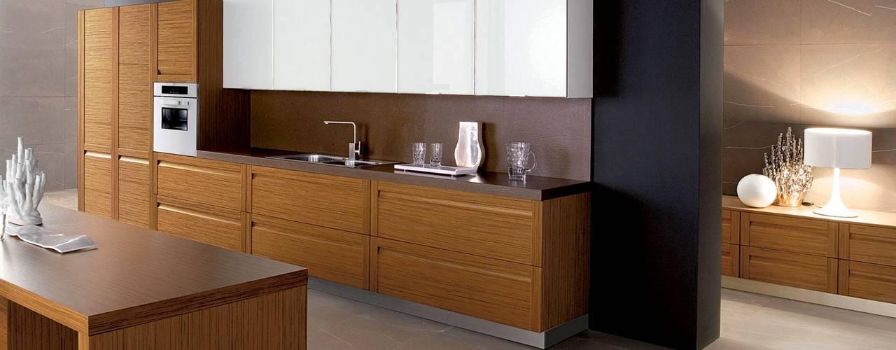 Muebles de Cocina - Café con Leche: Muebles de cocinas de estilo  por Corporación Siprisma S.A.C, Minimalista