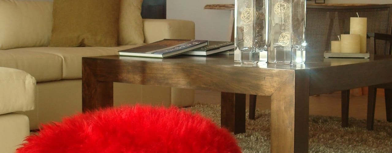 ห้องนั่งเล่น โดย Fabiana Ordoqui  Arquitectura y Diseño.   Rosario | Funes |Roldán,