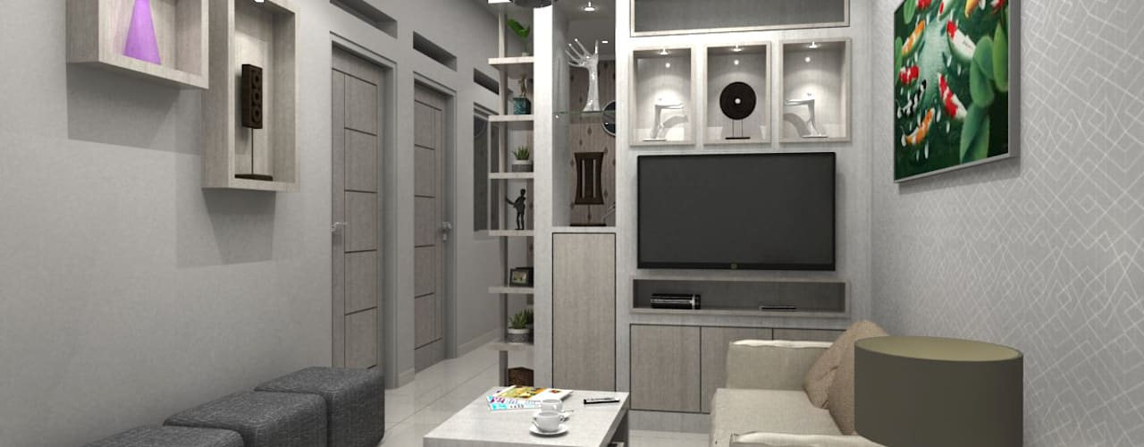 Salas de estilo minimalista de Maxx Details Minimalista