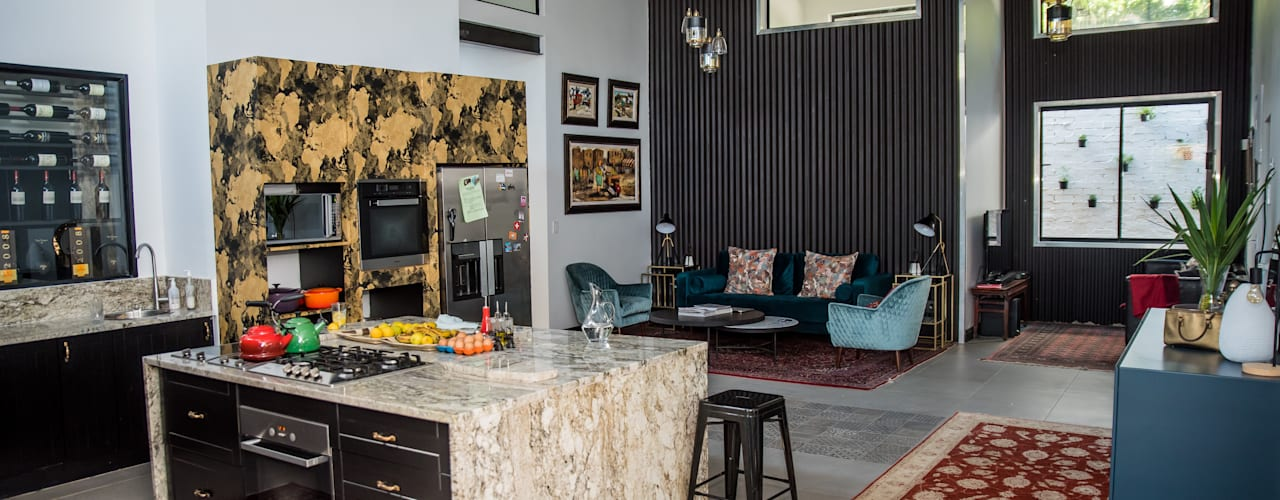 The Dambuza Home in Sandton by TOP CENTRE PROPERTIES GROUP (PTY) LTD Eclectic