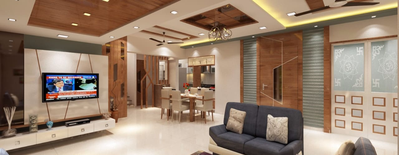 How To Use A False Ceiling To Decorate Your Home Homify
