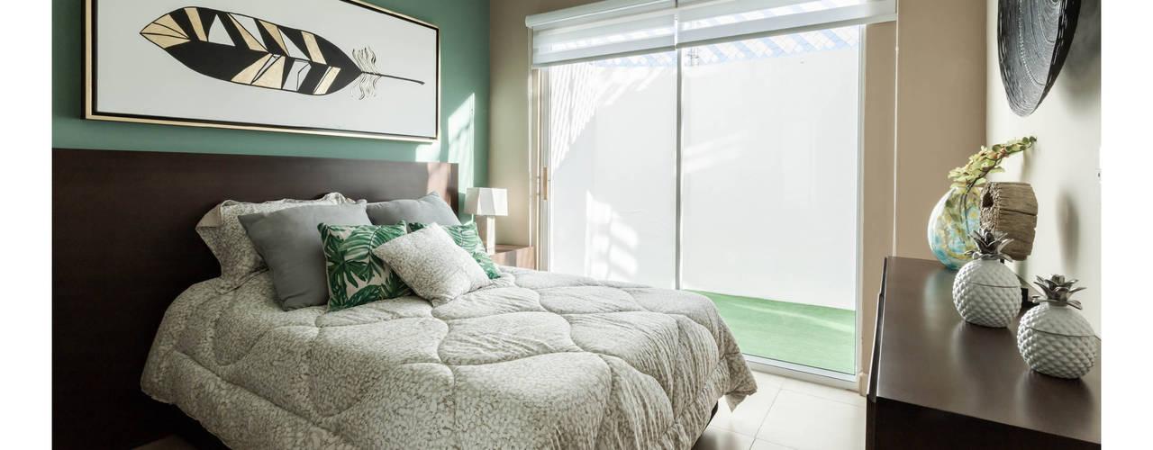 Casa muestra Colinas del Santuario Aria Estudio Dormitorios modernos