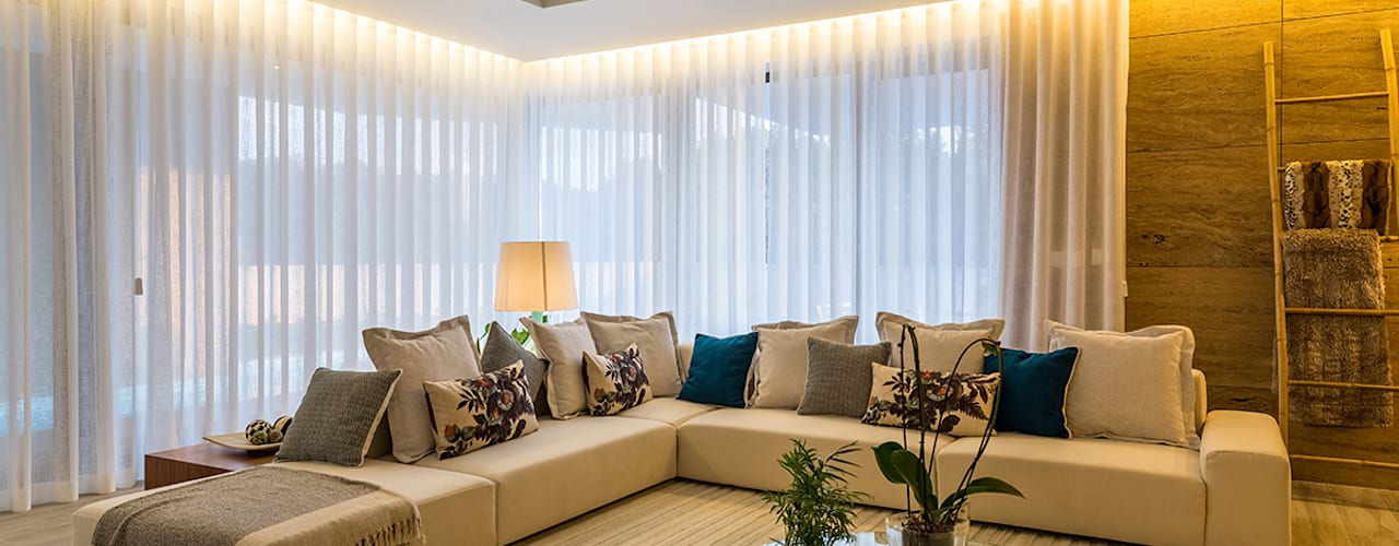 ShiStudio Interior Design Salas de estar modernas