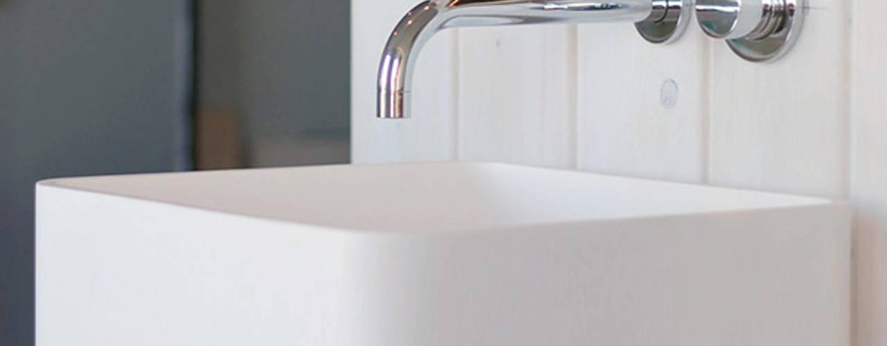 Referenzbilder moderne Mineralguss Standbecken von Badeloft:   von Badeloft GmbH - Hersteller von Badewannen und Waschbecken in Berlin