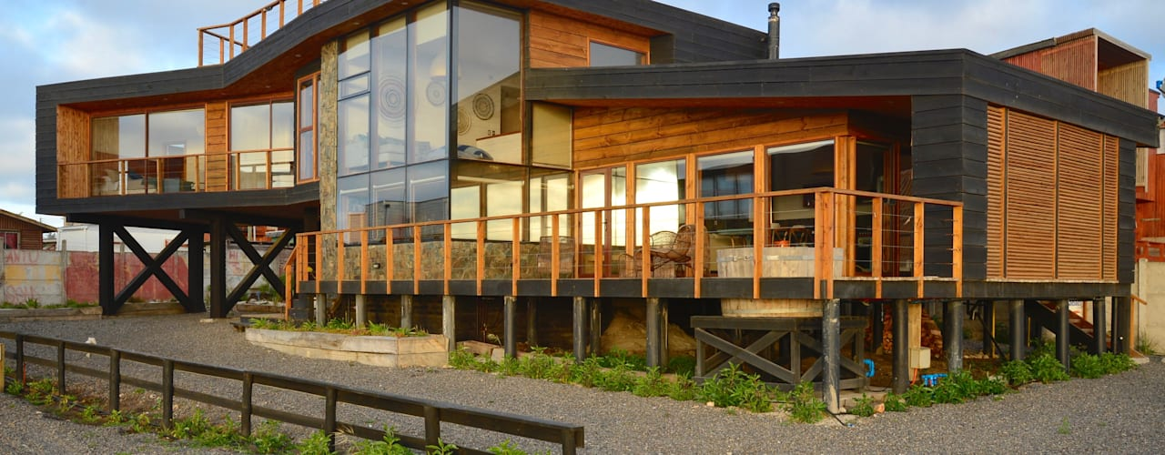木屋 by Kimche Arquitectos , 現代風