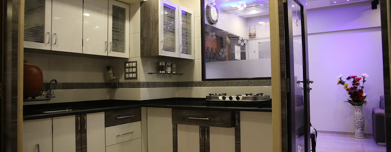 Interior Designing Sabita Enterprises KitchenCutlery, crockery & glassware Plywood Brown