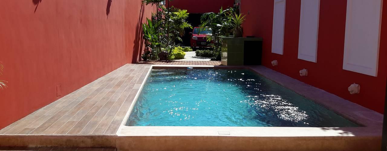 Casa del Jaguar Grupo Inmobiliario Dofer Albercas modernas
