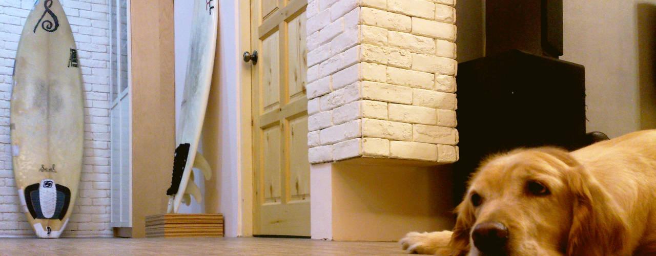 小家庭 北歐風 FU~ :  地板 by 艾莉森 空間設計