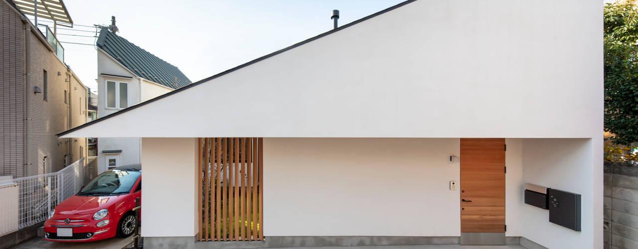 스칸디나비아 주택 by 遠藤誠建築設計事務所(MAKOTO ENDO ARCHITECTS) 북유럽