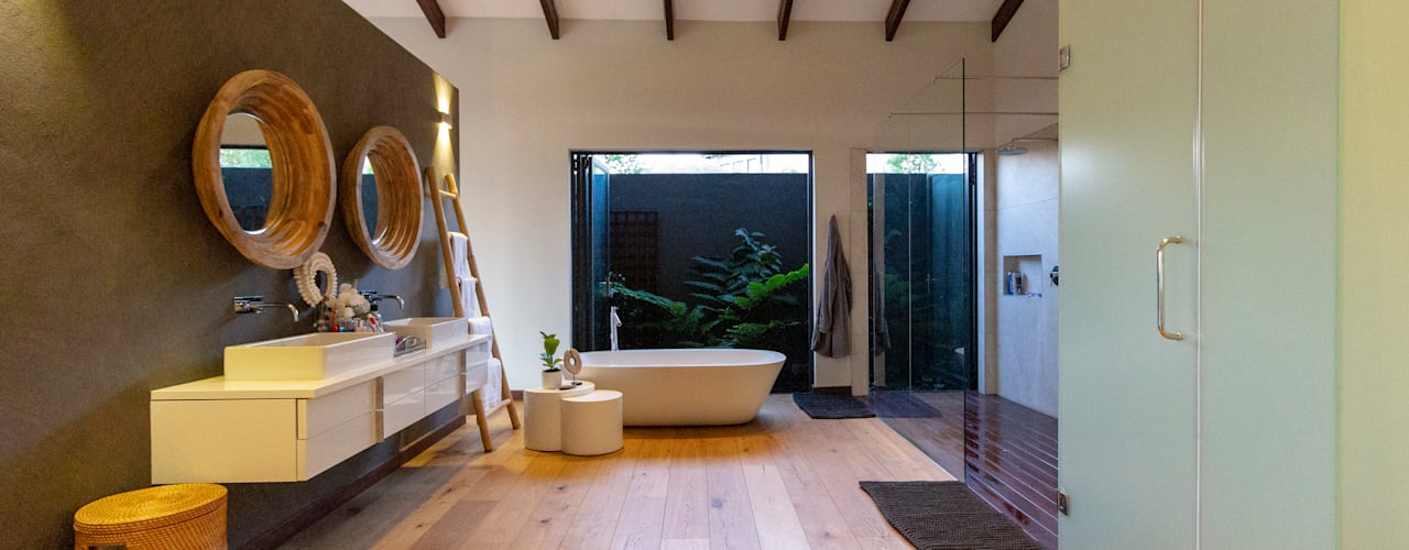 House Milne Modern bathroom by Hugo Hamity Architects Modern