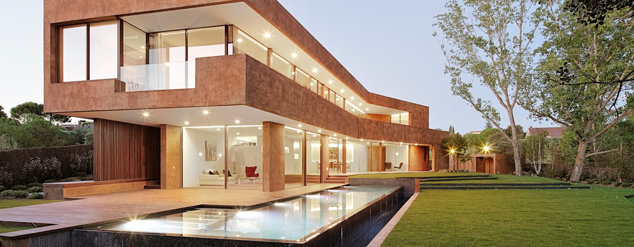 Arquitectura de autor para una casa minimalista en madrid for Casa minimalista definicion