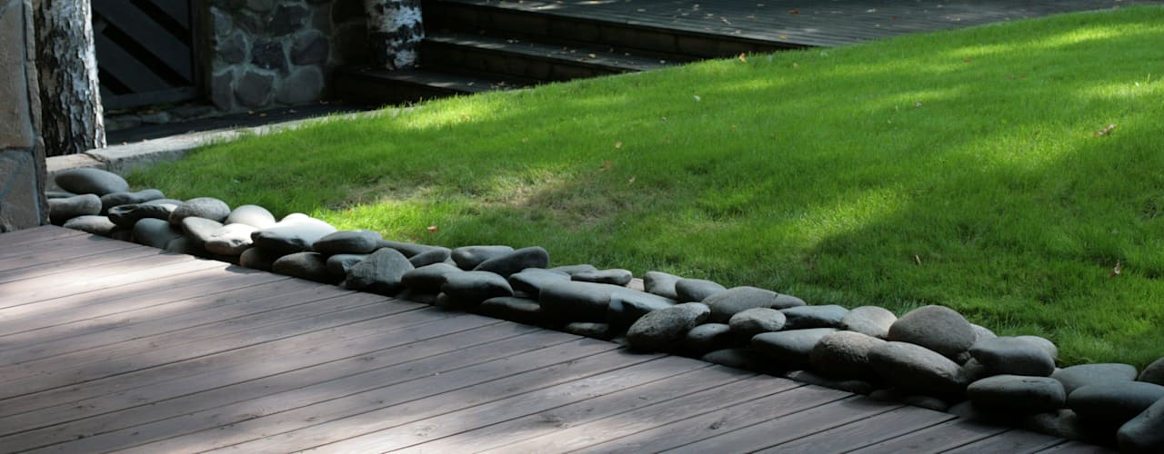 Вокалист 01 В единении с природой Сад в стиле минимализм от ООО GeoGraffiti Минимализм