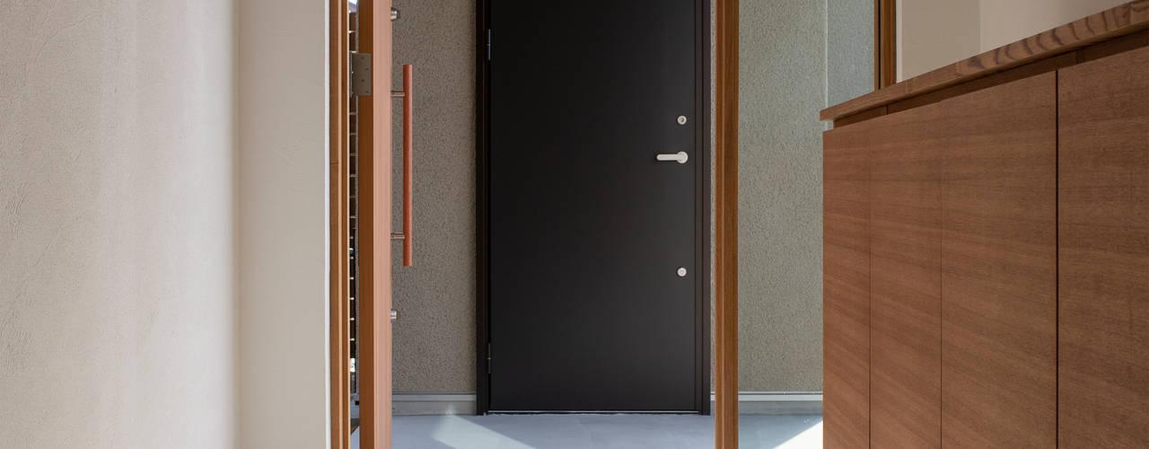 breeze モダンスタイルの 玄関&廊下&階段 の yuukistyle 友紀建築工房 モダン