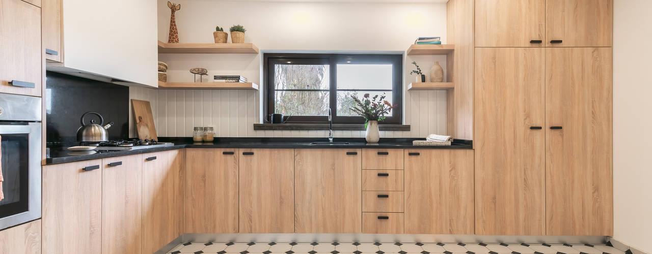 Reabilitação de cozinha : Armários de cozinha  por Rima Design
