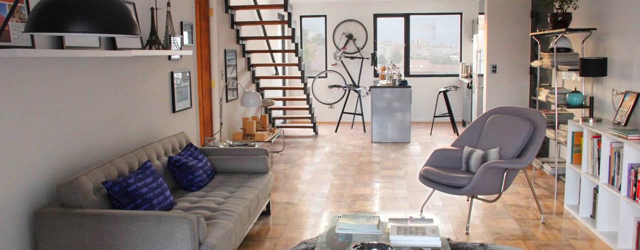 Salones de estilo  de INFINISKI, Moderno