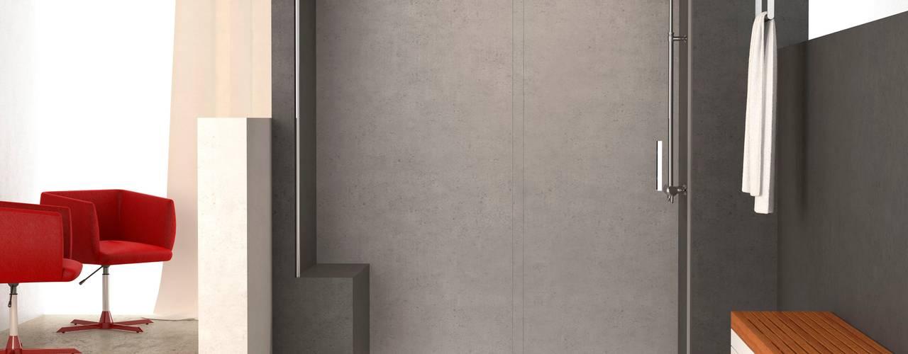 Baños con necesidades especiales Baños de estilo moderno de Banium-Reformas del Hogar en Madrid Moderno