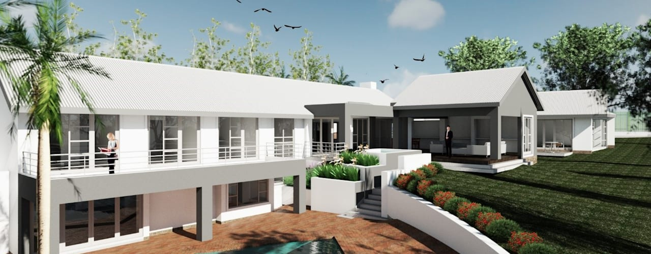 House Strubenkop - Architectural Renovation Modern houses by Nuclei Lifestyle Design Modern