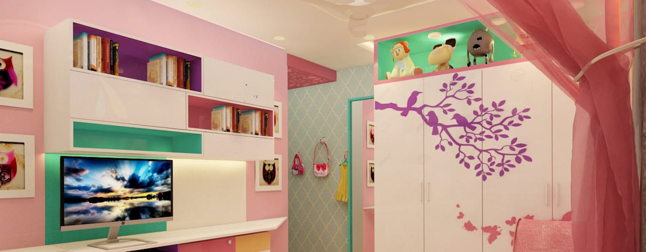Daughter's bedroom:   by Space Polygon