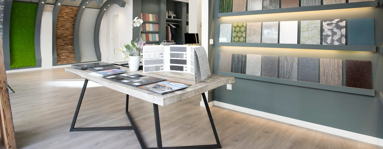 NSG Office : Oficinas y Tiendas de estilo  de NSG interior Design & Projects