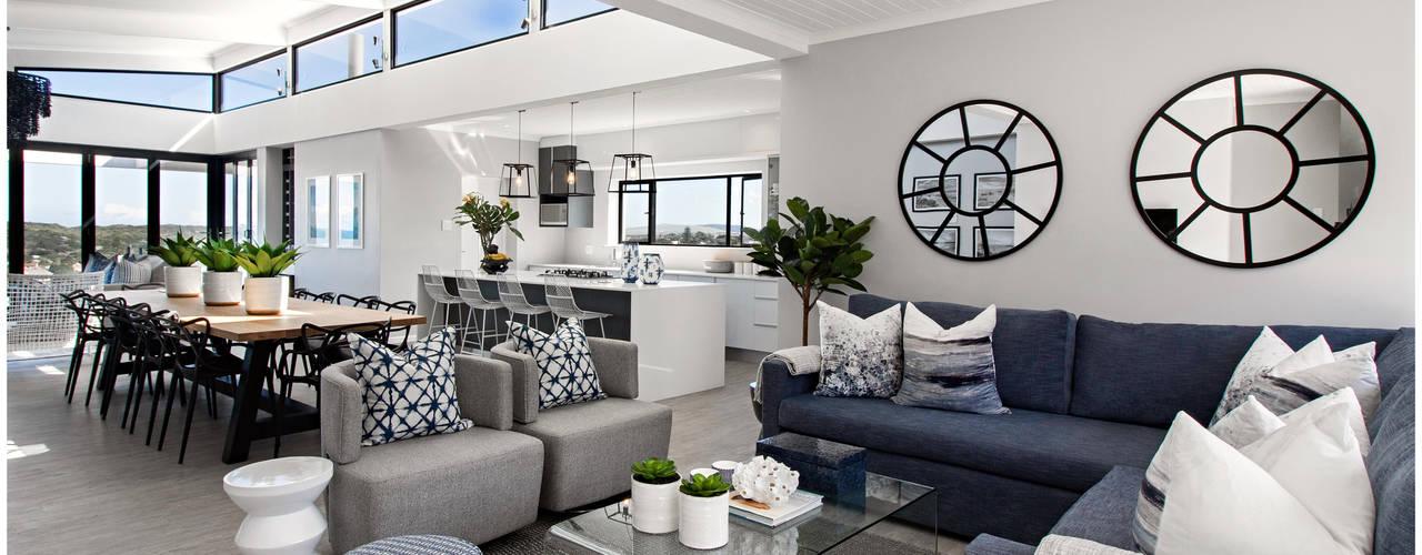 Joseph Avnon Interiors Living room