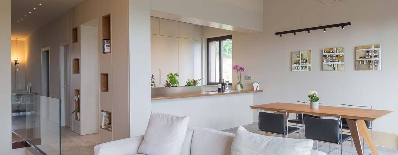 Abitazione 128 - Chianti: Soggiorno in stile  di Soffici e Galgani Architetti, Minimalista