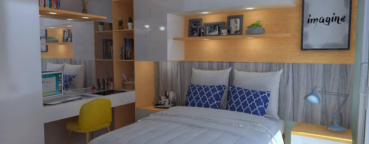 Arquitectura de interiores en vivienda en SMP de LS Arquitectura, diseño y acústica Moderno