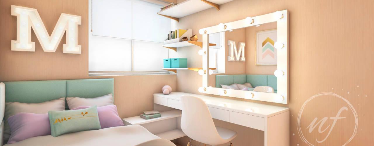 Kleines Schlafzimmer von NF Diseño de Interiores