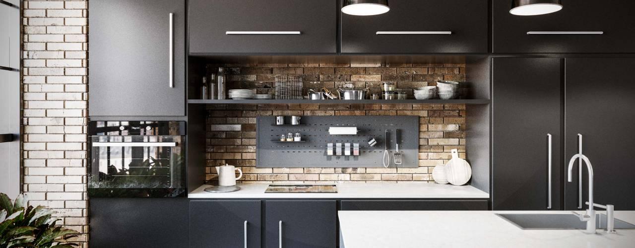 Back: Cucina in stile  di Damiano Latini srl