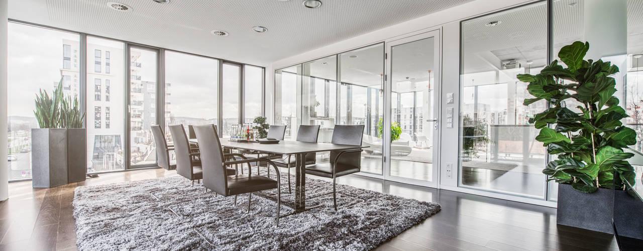 Neues Interior Design für Ihre Geschäftsräume:  Bürogebäude von Kaldma Interiors - Interior Design aus Karlsruhe,Modern