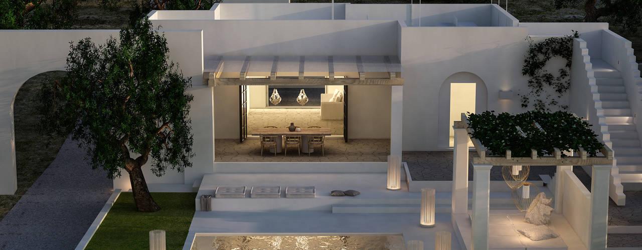 Ristrutturazione a Ugento (LE) architetto stefano ghiretti Casa unifamiliare