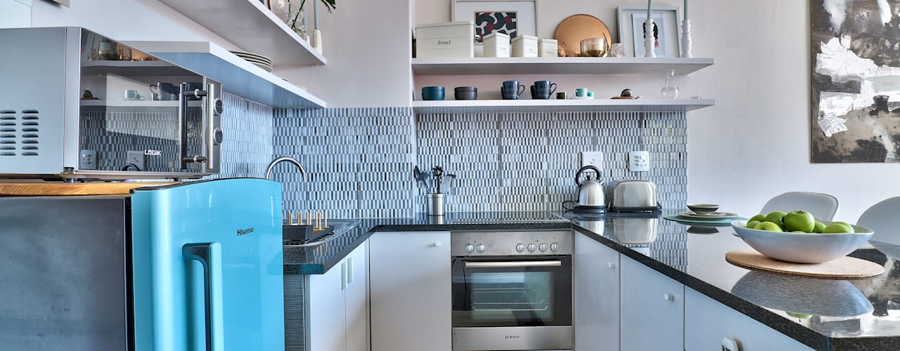 Perspectives City Views Modern kitchen by Studio Do Cabo Modern