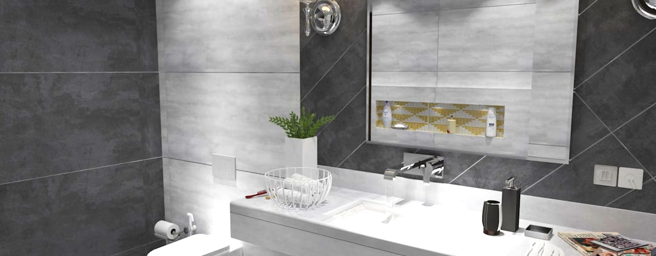 Bathroom Designs:  Bathroom by Inaraa Designs,Modern