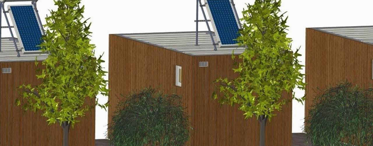 de estilo  por BLOC - Casas Modulares,