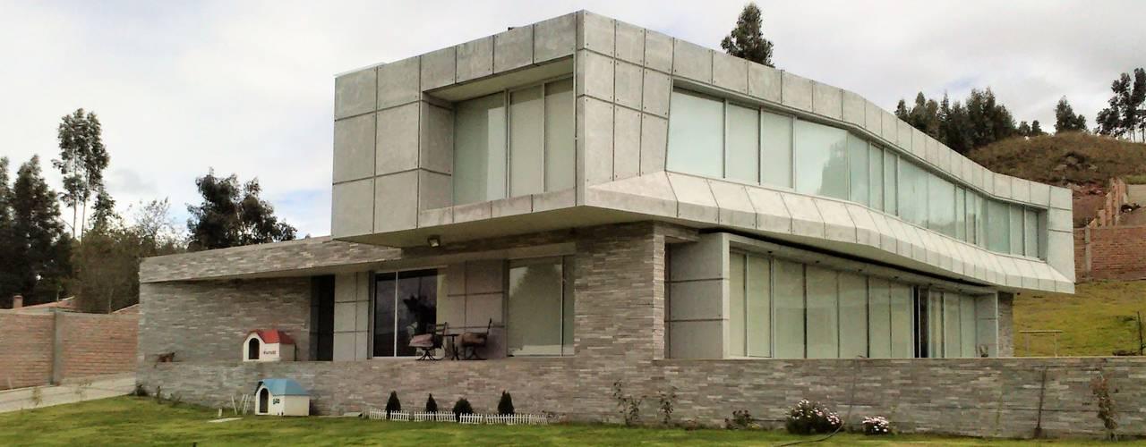 Casa en Riobamba, Ecuador de Brassea Mancilla Arquitectos, Santiago Mediterráneo