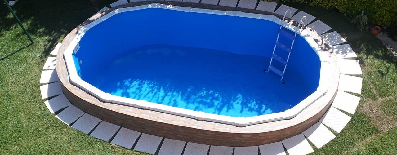 Comprar piscinas de acero desmontables Barcelona de Outlet Piscinas Clásico
