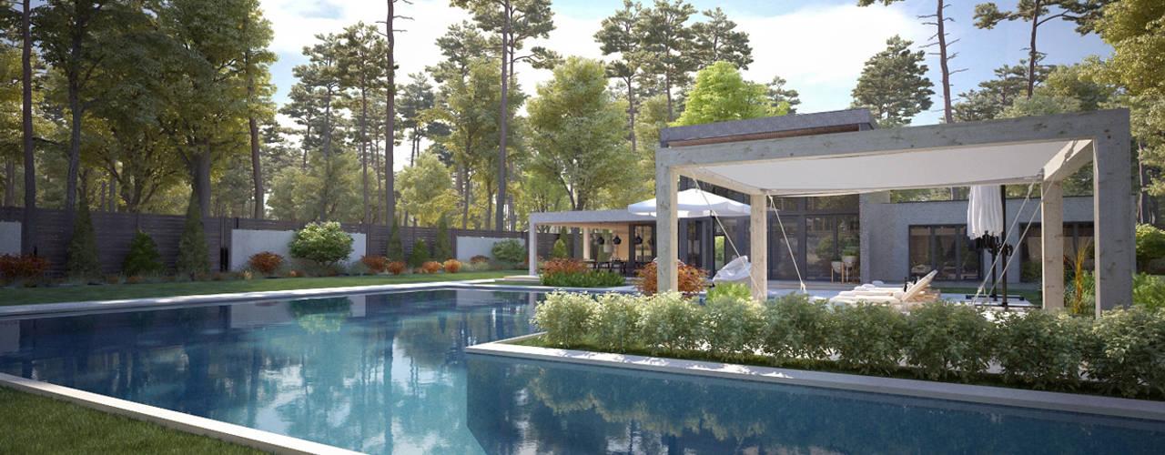 Kaş Villa - Antalya / Turkey by Sia Moore Archıtecture Interıor Desıgn Modern