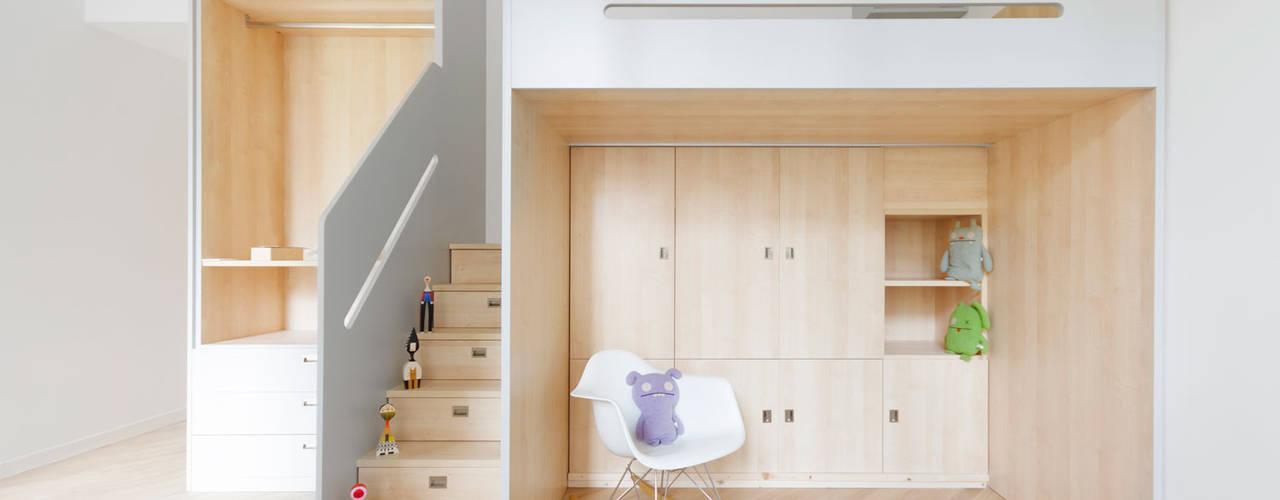 PLUS ULTRA studio Teen bedroom Wood Wood effect