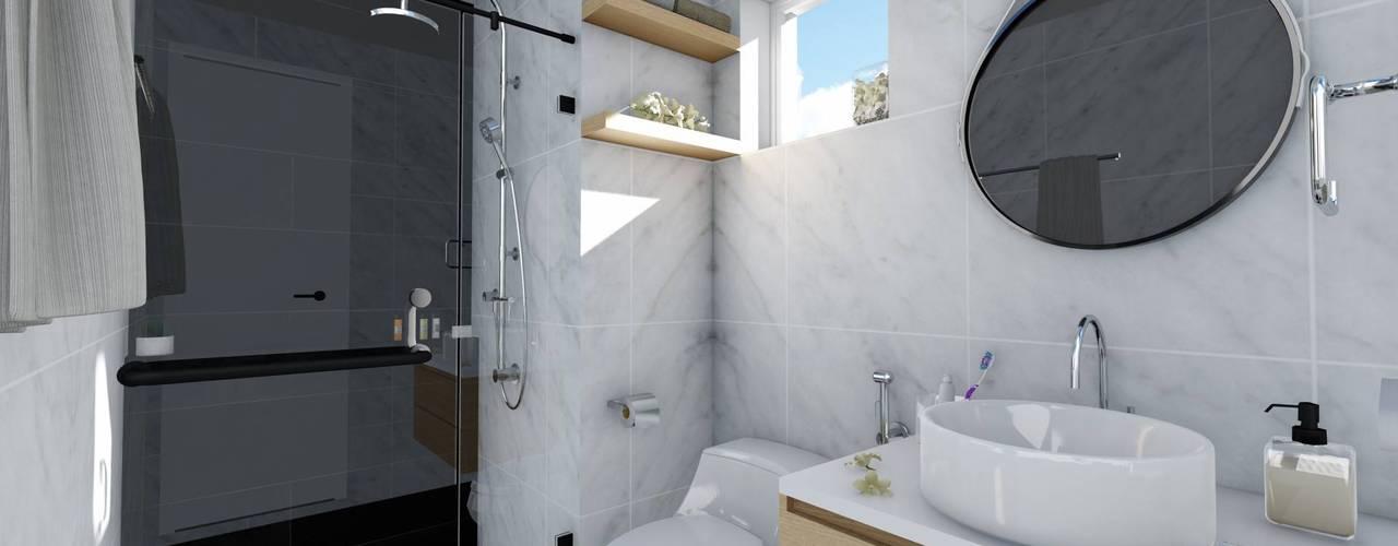 Modern bathroom by Structura Architects Modern
