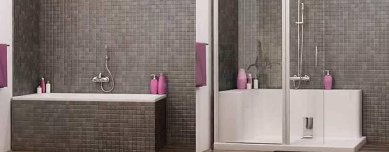 Realiza la reforma integral de tu baño en una semana con Banium de Banium-Reformas del Hogar en Madrid Moderno