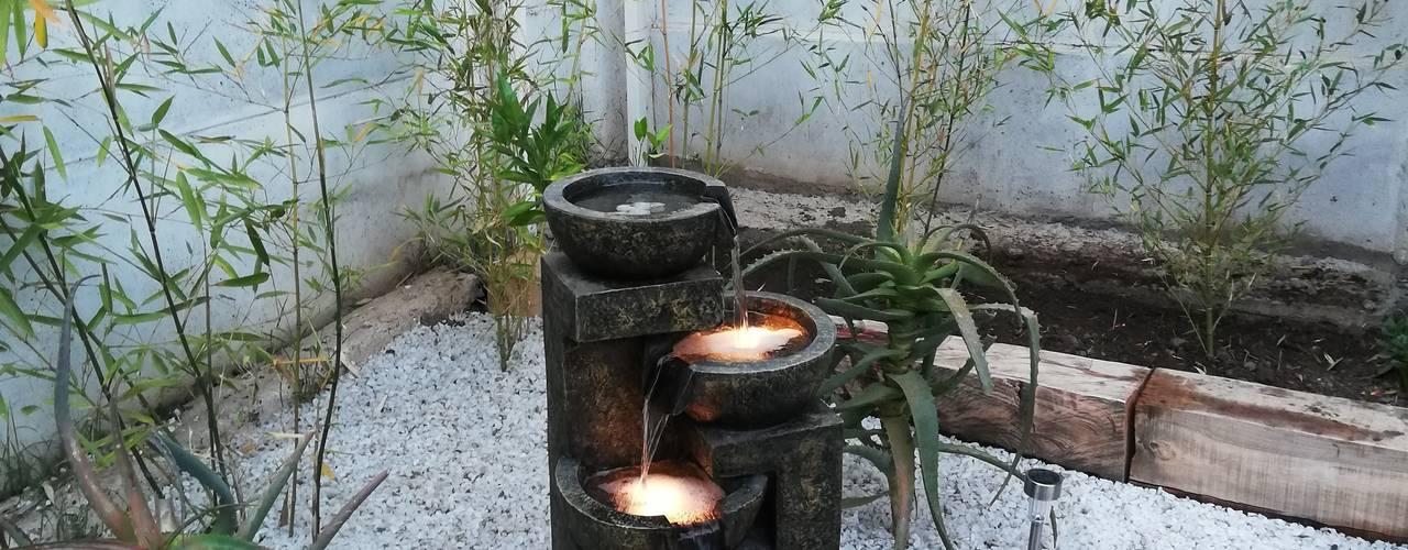 HZ ARQUITECTOS SANTIAGO DISEÑO COCINAS JARDINES PAISAJISMO REMODELACIONES OBRA Jardines minimalistas