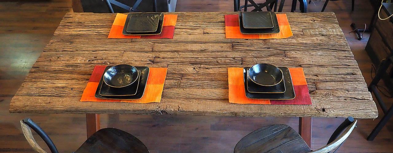Tavoli Allungabili Legno E Ferro.Tavoli Moderni E In Stile Industrial Homify