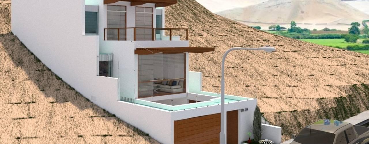 Casa de Playa - BUJAMA: Casas de estilo  por Corporación Siprisma S.A.C