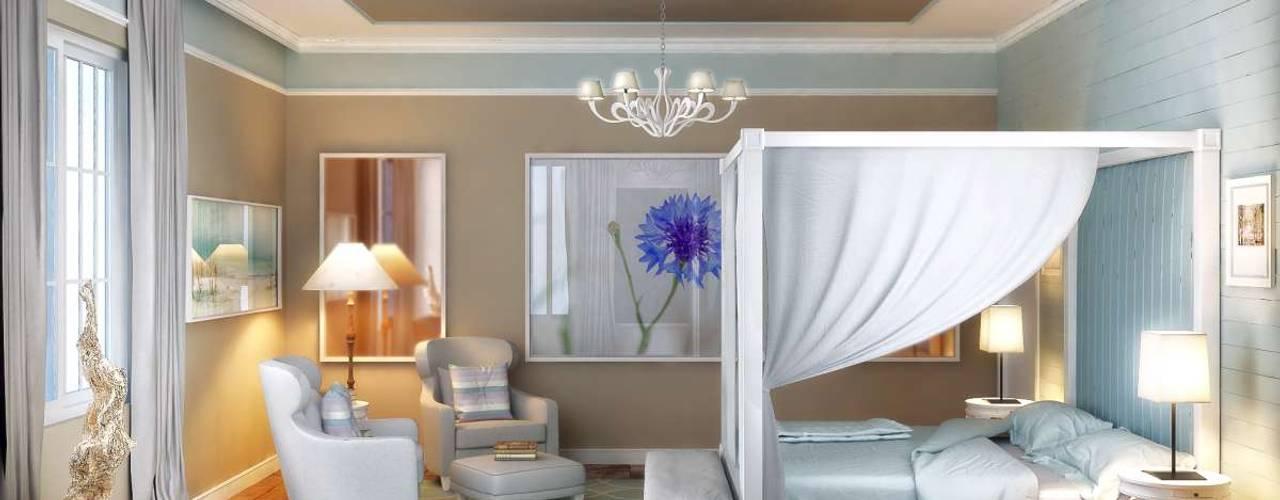Yunus Emre   Interior Design Modern style bedroom by VERO CONCEPT MİMARLIK Modern