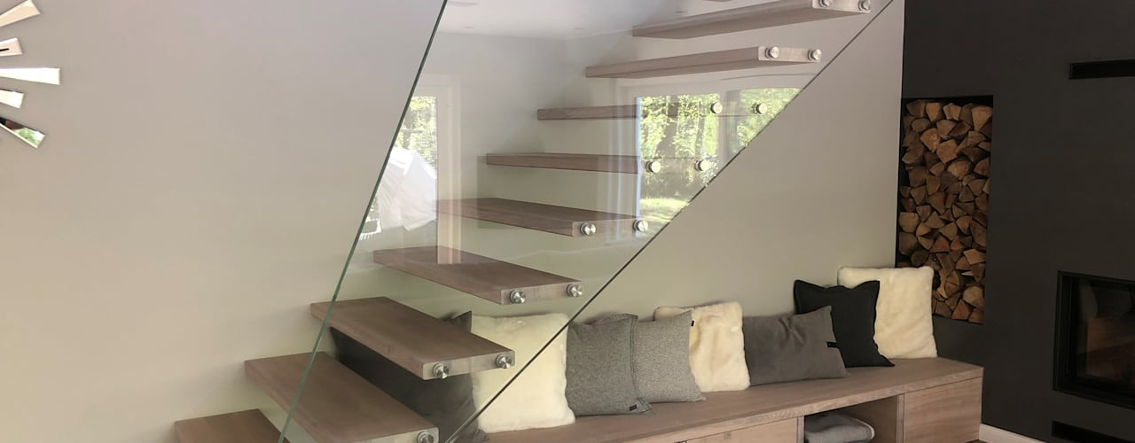 Siller Treppen/Stairs/Scale 계단 유리 투명
